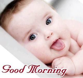 Good Morning Cute Babies Images
